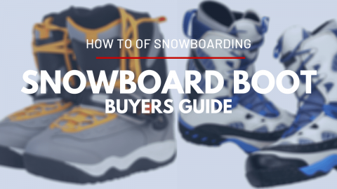 Snowboard Boot Selection