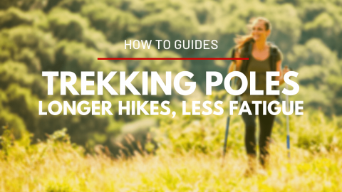Proper Use of Trekking Poles, the Key to Longer Hikes with Less Fatigue