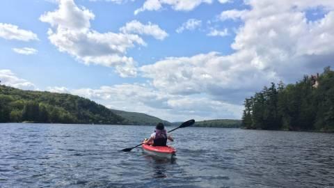 Kayaking - Lac Meech