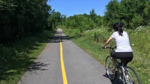Cycling - Sentier du Parc de la Gatineau - July 29, 2018